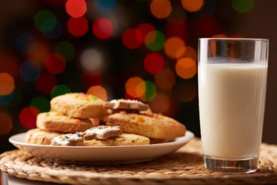 Santa's Milk and Cookies